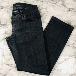BANANA REPUBLIC Grey Classic Straight Leg Jeans